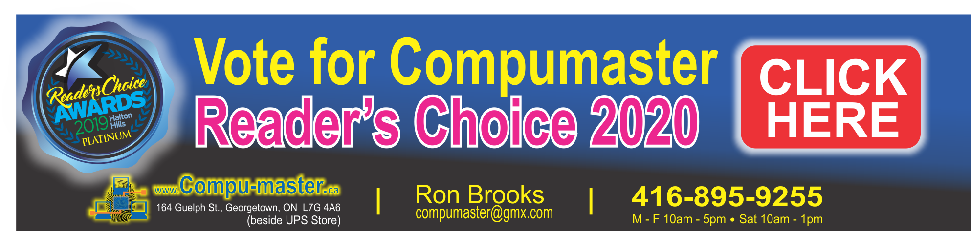 Readers Choice Vote Icon